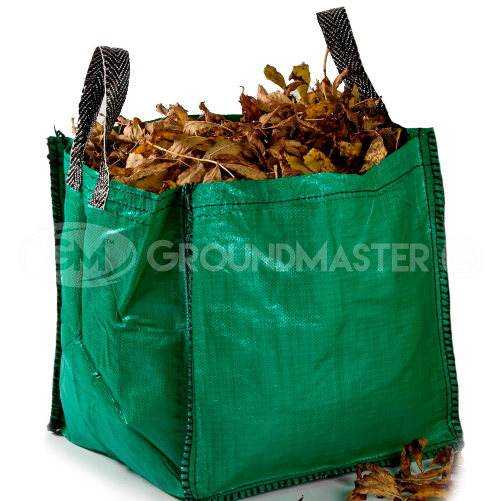 Groundmaster 90l Garden Waste Bags Heavy Duty Large Refuse Sacks With Handles