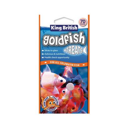King British Goldfish Treats 40g (70 Tabs)