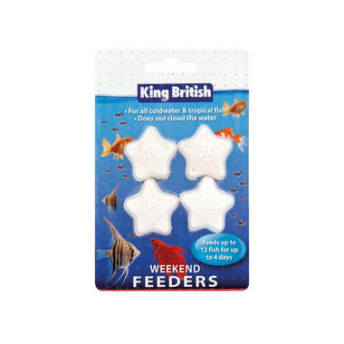 King British Weekend Aquarium Food Blocks