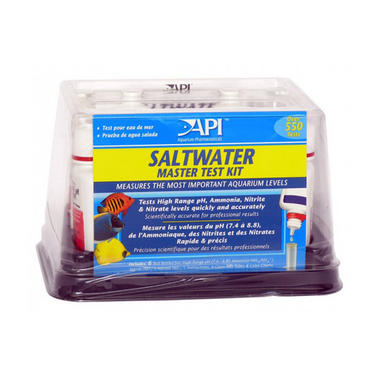 Liquid Salt Water Master Test Kit - API Aquarium
