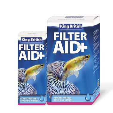 King British Filter Aid+ Aquarium Treatment