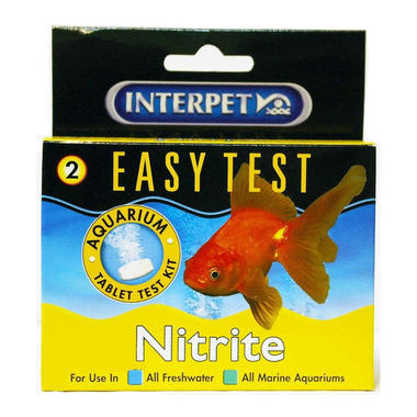 Interpet Easy Test Nitrite Aquarium Tablet Kit