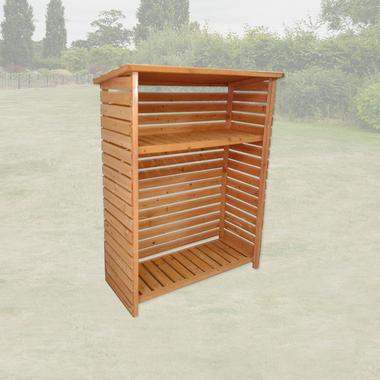 Single Garden Wood Store