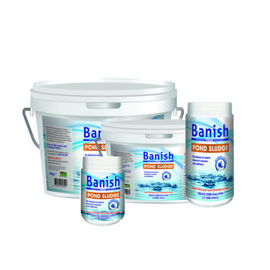 Banish Advanced Powder Pond Sludge Treatment