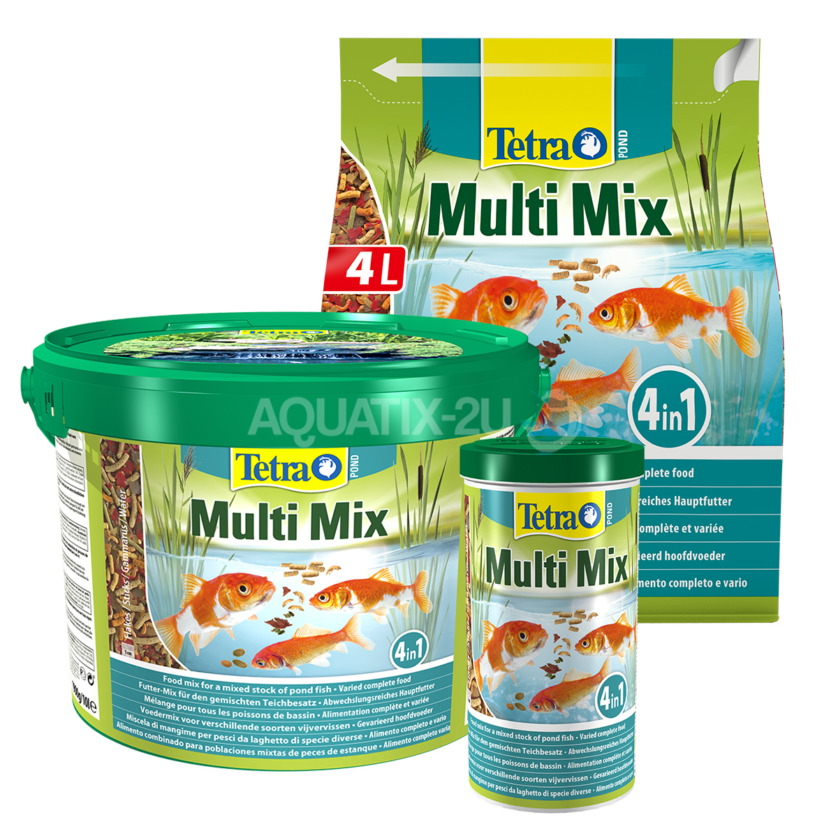 tetra pond multi mix fish food. Black Bedroom Furniture Sets. Home Design Ideas
