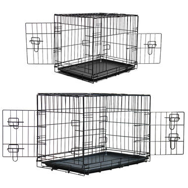 Pet Crates with Plastic Trays - Pisces