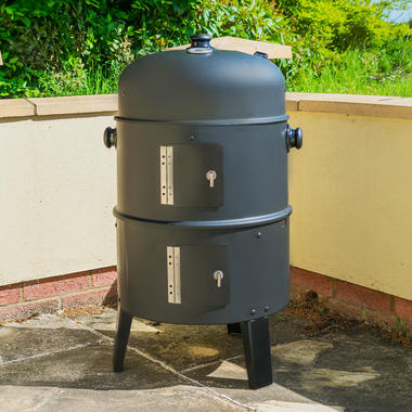 3 in 1 Upright BBQ Smoker and Grill