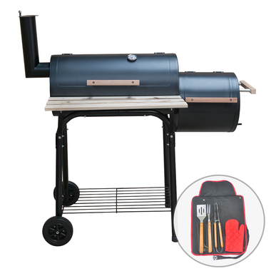 Outdoor Multifunction BBQ Smoker with Tool Set - KCT