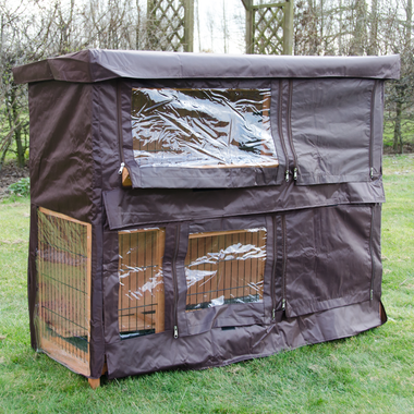 Cover for Milan Large Rabbit Hutch - Pisces