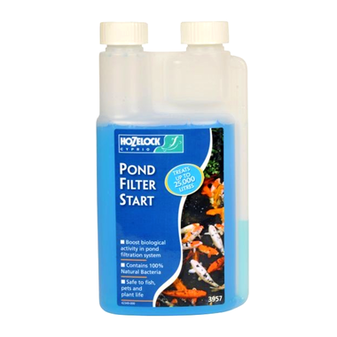 500ml Pond Filter Start - Hozelock