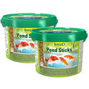 Twin Pack - Tetra 10 Litre Bucket Floating Sticks Fish Food