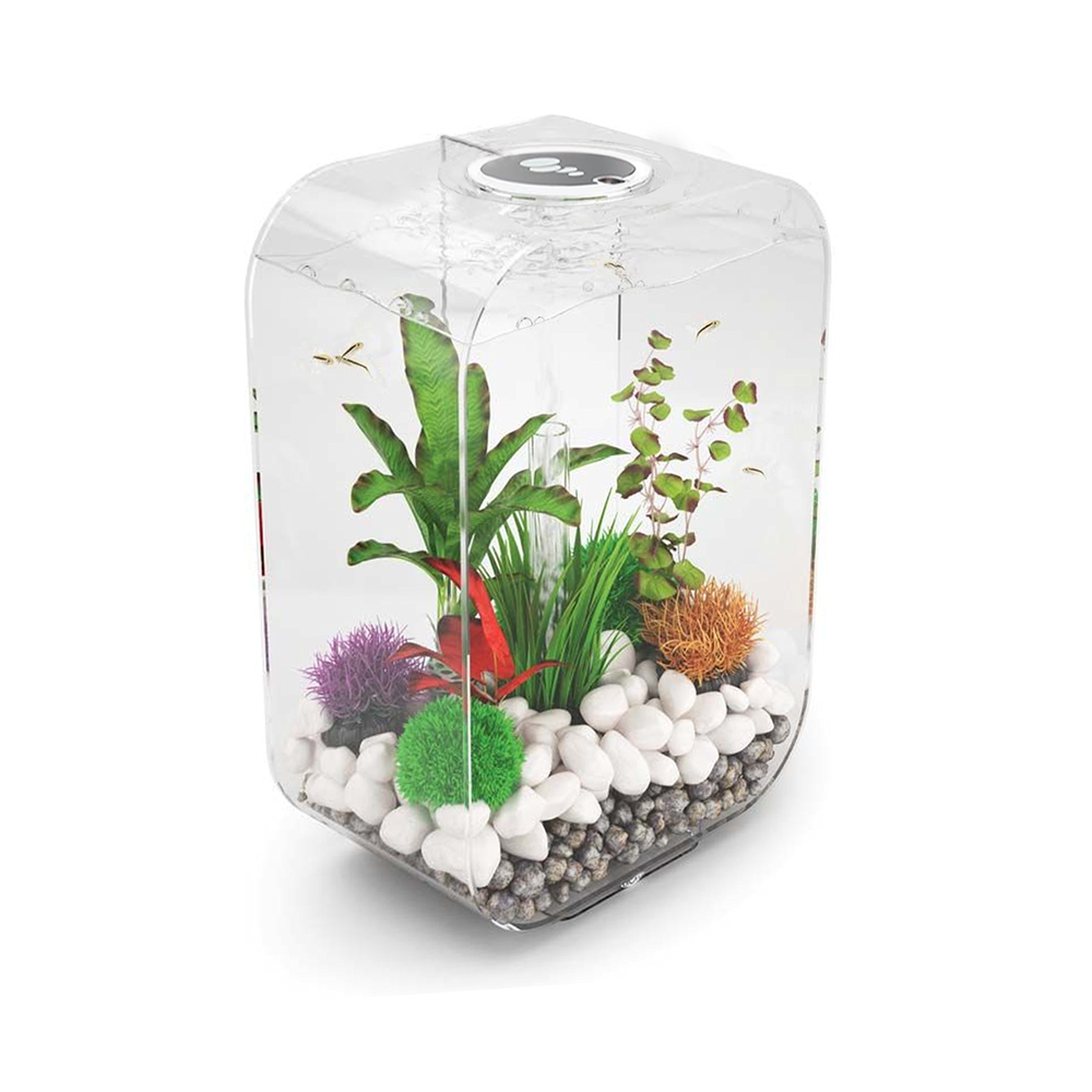 biorb life 60l clear aquarium with mcr led lighting. Black Bedroom Furniture Sets. Home Design Ideas