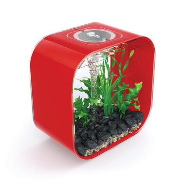 BiOrb LIFE 30L Chilli Red Aquarium with Intelligent LED Lighting
