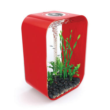BiOrb Life 45L Chilli Red Aquarium with Intelligent Lighting