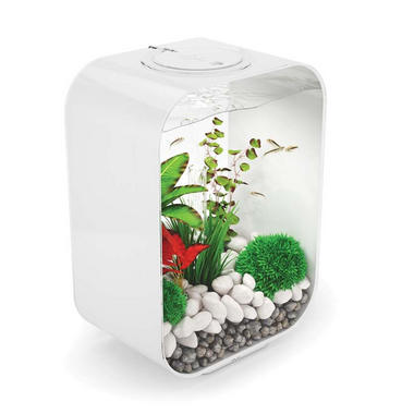 BiOrb Life 15L White Aquarium with Standard LED Lighting