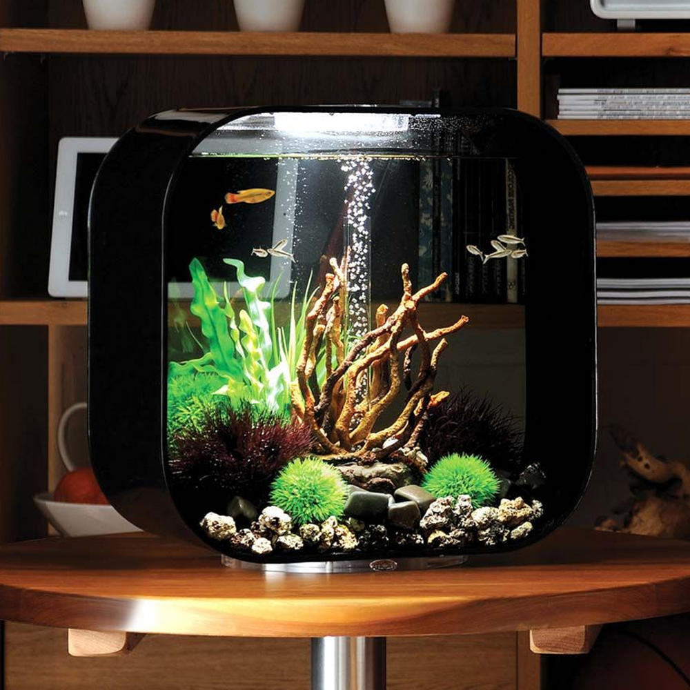 biorb life 30l black aquarium with mcr led lighting. Black Bedroom Furniture Sets. Home Design Ideas