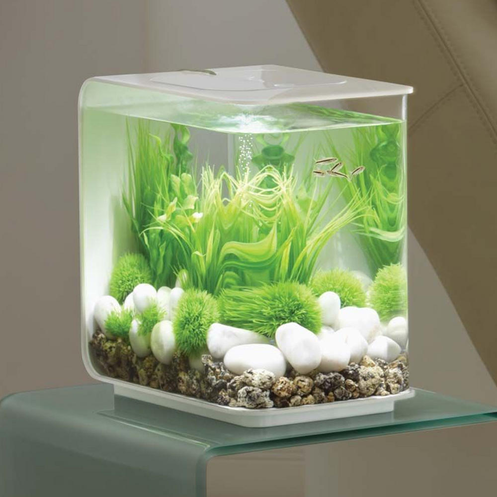 Biorb Flow 15l White Aquarium With Standard Led Lighting