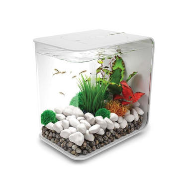 BiOrb Flow 15L White Aquarium with Standard LED Lighting