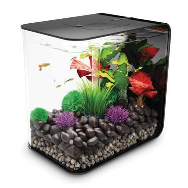 BiOrb Flow 30L Black Aquarium with Standard LED Lighting