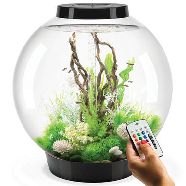 BiOrb Classic 105L Black Aquarium with MCR LED Lighting
