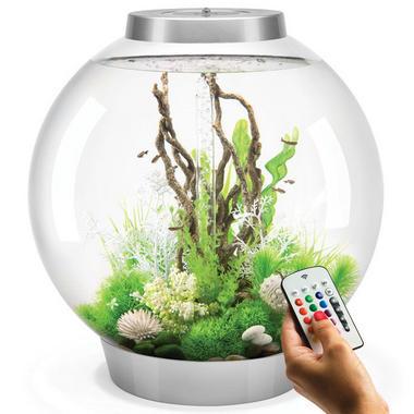 BiOrb Classic 105L Silver Aquarium with MCR LED Lighting