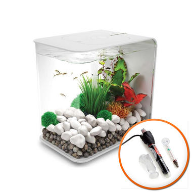 BiOrb Flow 15L White with LED Lighting & Heater