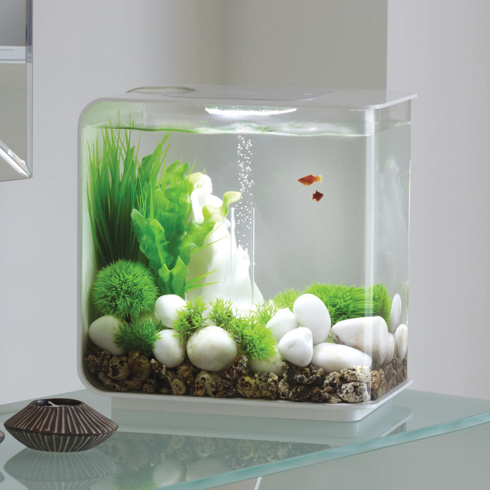 Aquarium Controller 10 Steps With Pictures: BiOrb Flow 30L White With LED Lighting & Heater