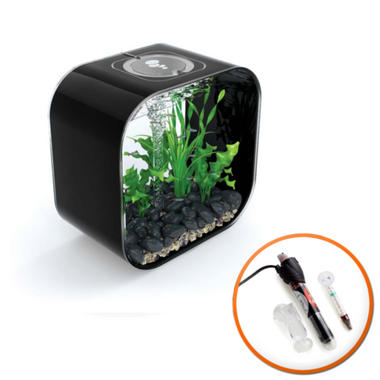 BiOrb LIFE 30L Black with Intelligent LED Light and Heater