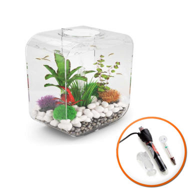 BiOrb LIFE 30L Clear with Intelligent LED Light and Heater
