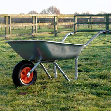 KCT 65 Litre Garden Steel Wheelbarrow