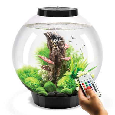 BiOrb Classic 30L Black Aquarium with Black MCR LED Lighting