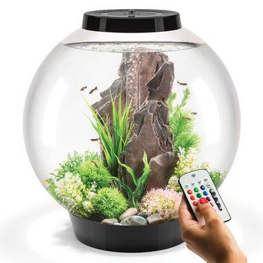 BiOrb Classic 60L Black Aquarium with MCR LED Lighting