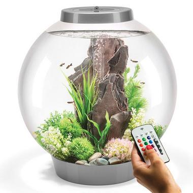 BiOrb Classic 60L Silver Aquarium with MCR LED Lighting
