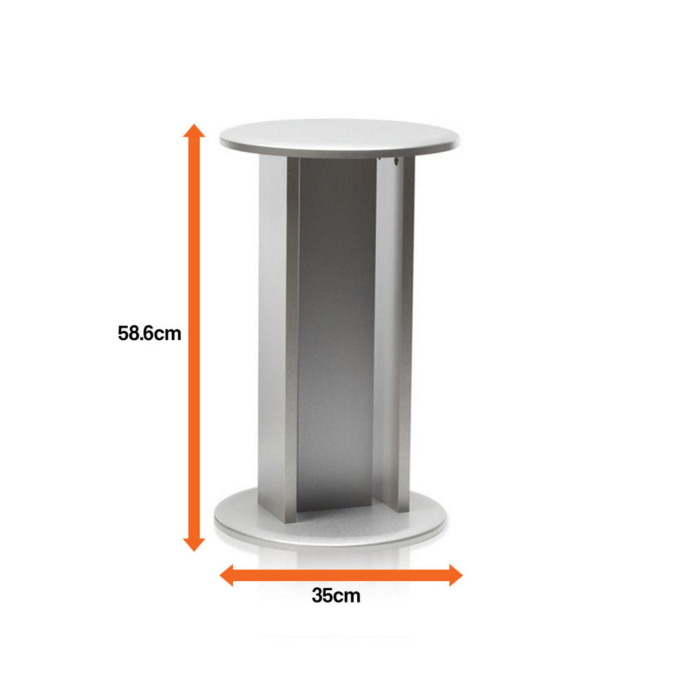 Biorb Classic 60l In Silver With Standard Led Lighting