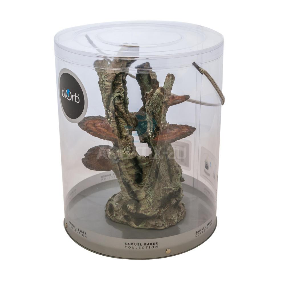 Oase biorb ornament medium fungus on bark for Aquarium decoration uk