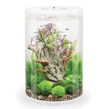 BiOrb Tube 30L White Aquarium with Standard LED Lighting