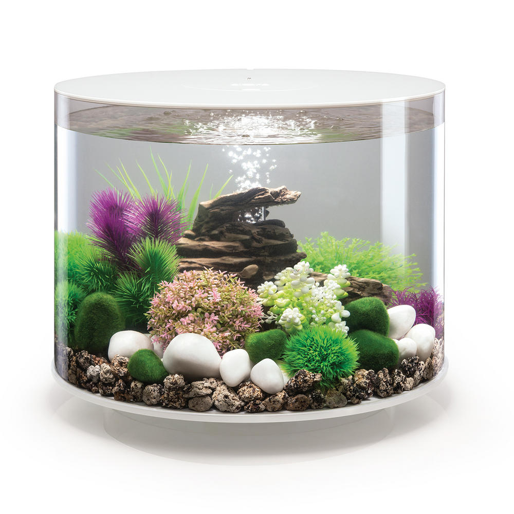 Biorb Tube 35l White Aquarium With Standard Led Lighting