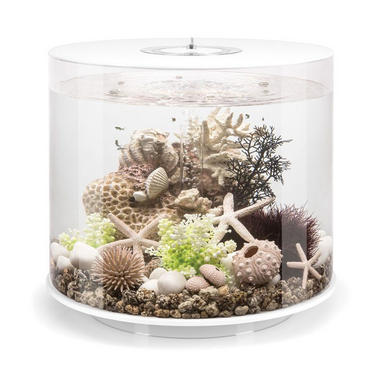 BiOrb Tube 35L White Aquarium with Standard LED Lighting