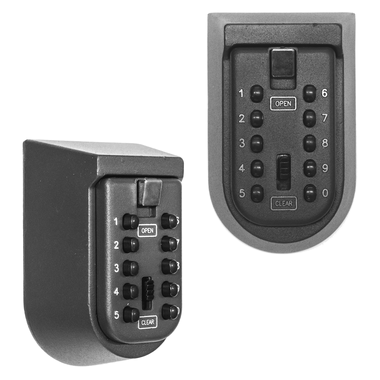 Twin Pack KCT Button Wall Key Safe