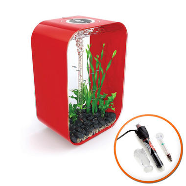 BiOrb Life 45L Chilli Red with Intelligent LED Lighting & Heater
