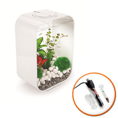 BiOrb Life 45L White with Intelligent LED Lighting & Heater