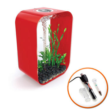 BiOrb Life 60L Chilli Red with Intelligent LED Lighting & Heater