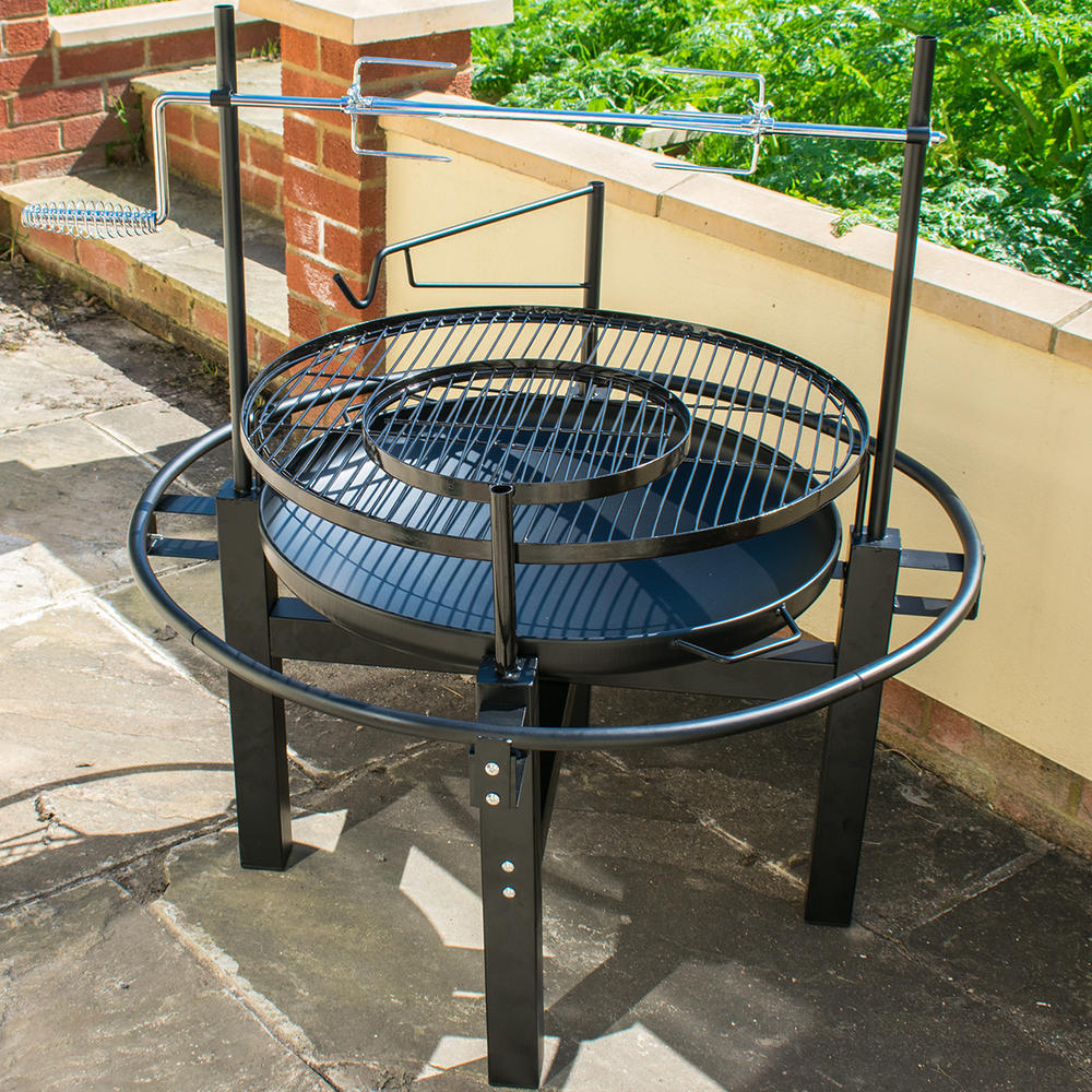 KCT Outdoor BBQ Grill with Rotisserie