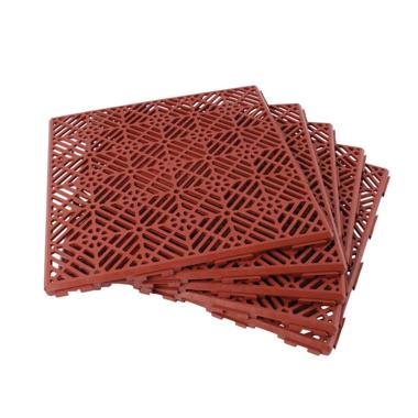 Terracotta Garden Path and Patio Decking Interlocking Tiles
