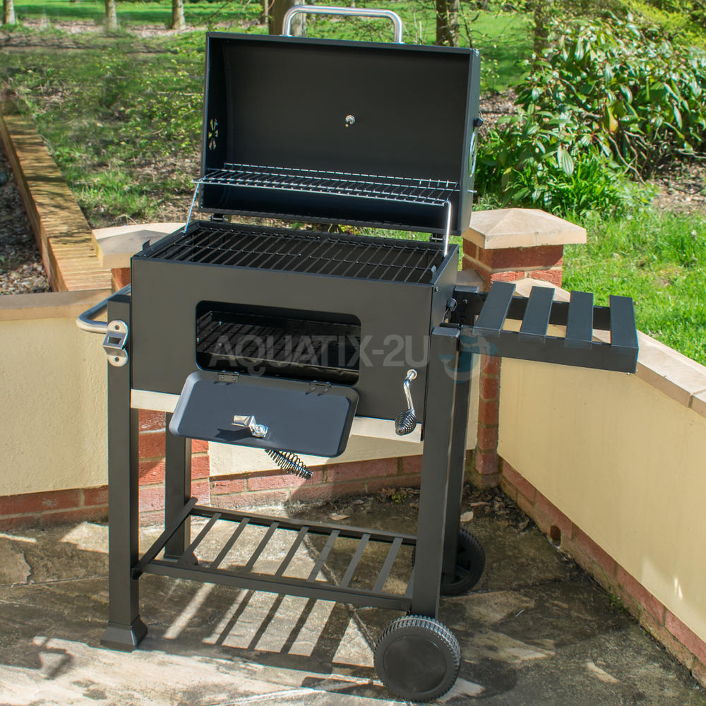 Deluxe Charcoal Bbq Grill Weatherproof Cover