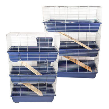 Triple Level Indoor Pet Rabbit Cage or Hutch