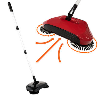 KCT Triple Brush Floor Sweeper