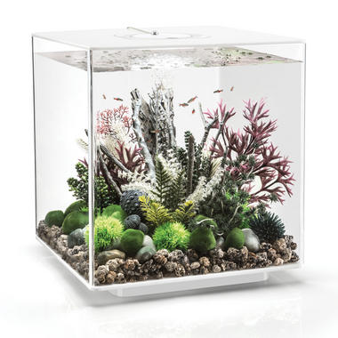 BiOrb CUBE 60L White Aquarium with MCR LED Lighting
