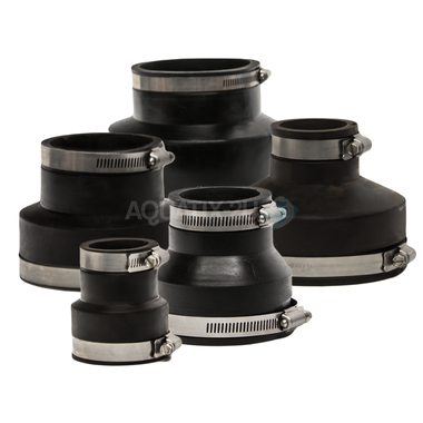 Cloverleaf Flexible Rubber Pipe Reducers