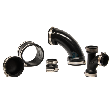 Pond Rubber Solvent Fittings with Clips